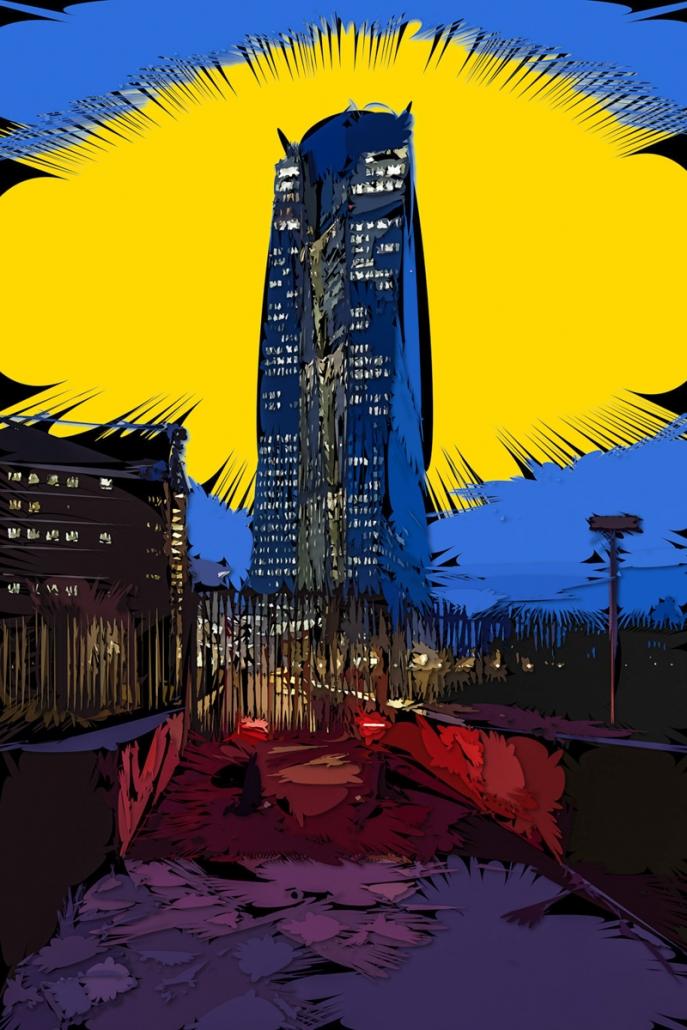 Fotokunst Frankfurt als Gratofafie® direkt vom Künstler Jürgen Schmidt-Lohmann in Ihrer Größe, als Limited Edition Fine Art Print kaufen